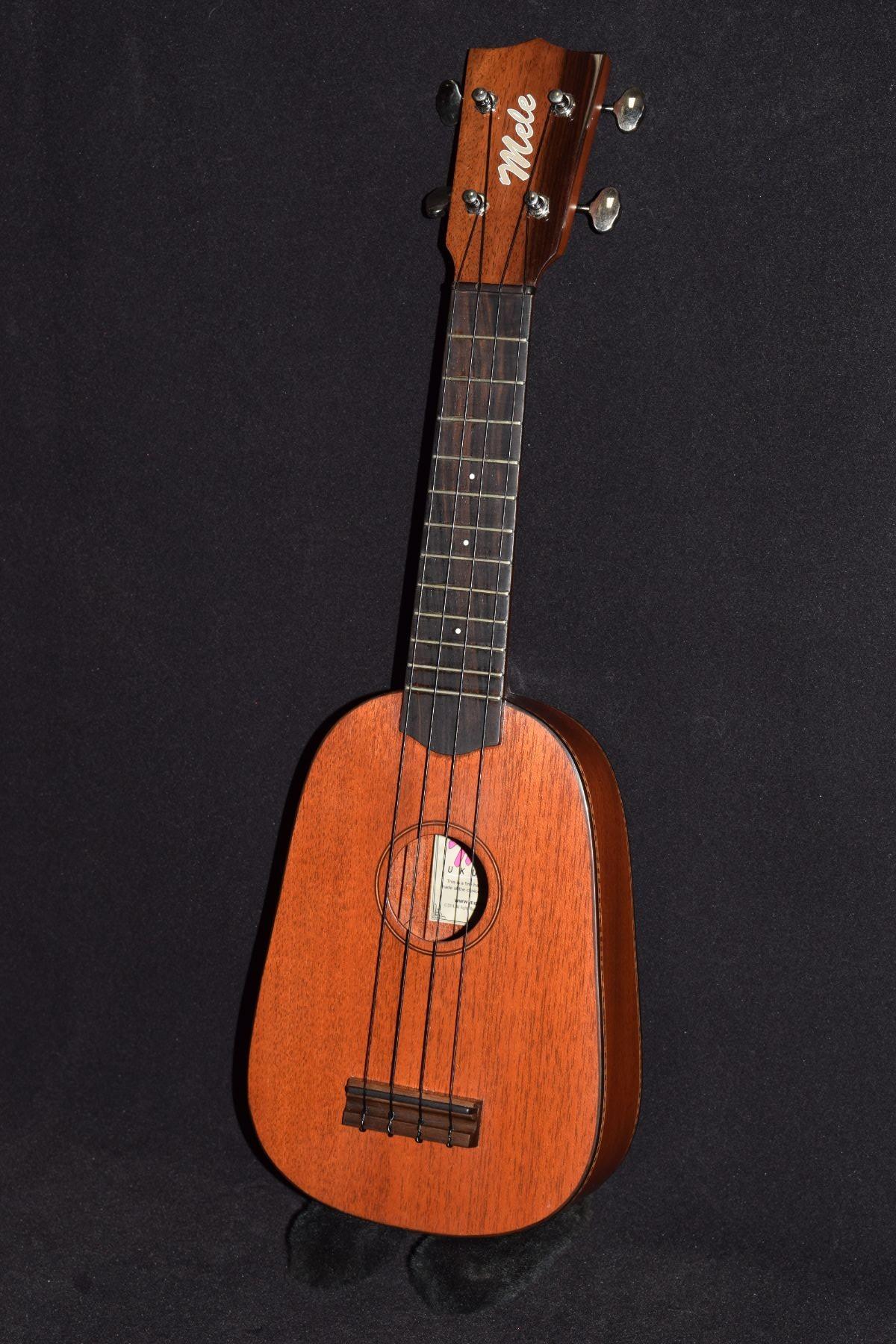 mele mahogany standard pineapple mele ukulele the sweet sound of aloha. Black Bedroom Furniture Sets. Home Design Ideas