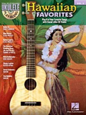 Hawaiian Favorites Ukulele Play Along Vol3 Mele Ukulele The